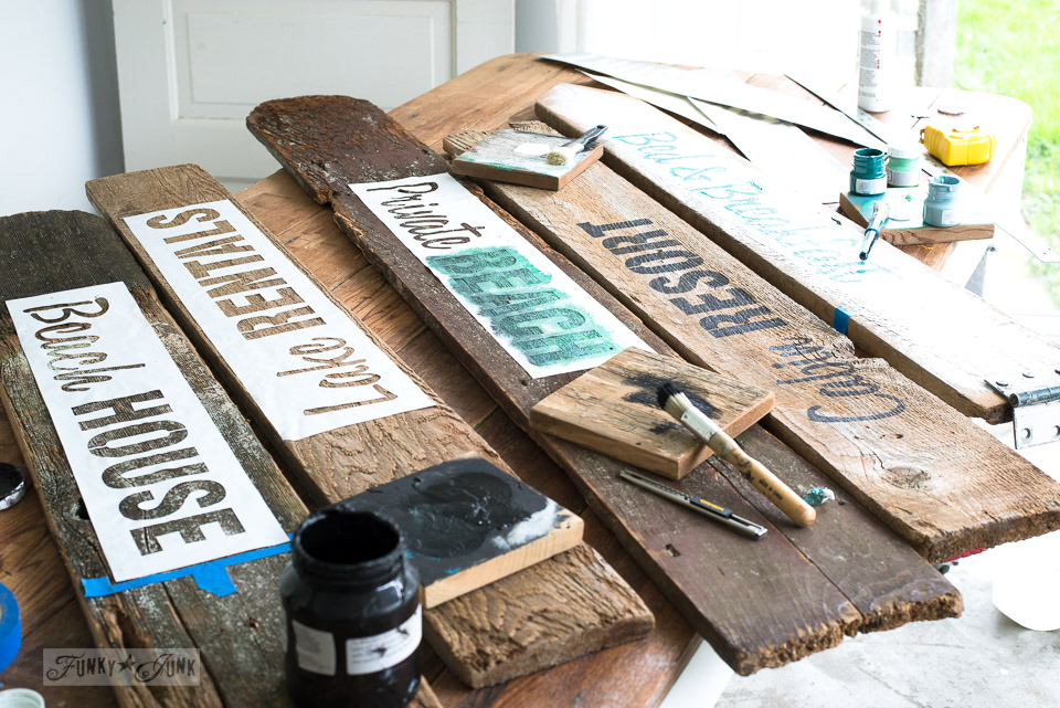 Beach-signs-with-the-Getaway-Collection-Funky-Junks-Old-Sign-Stencils-3547