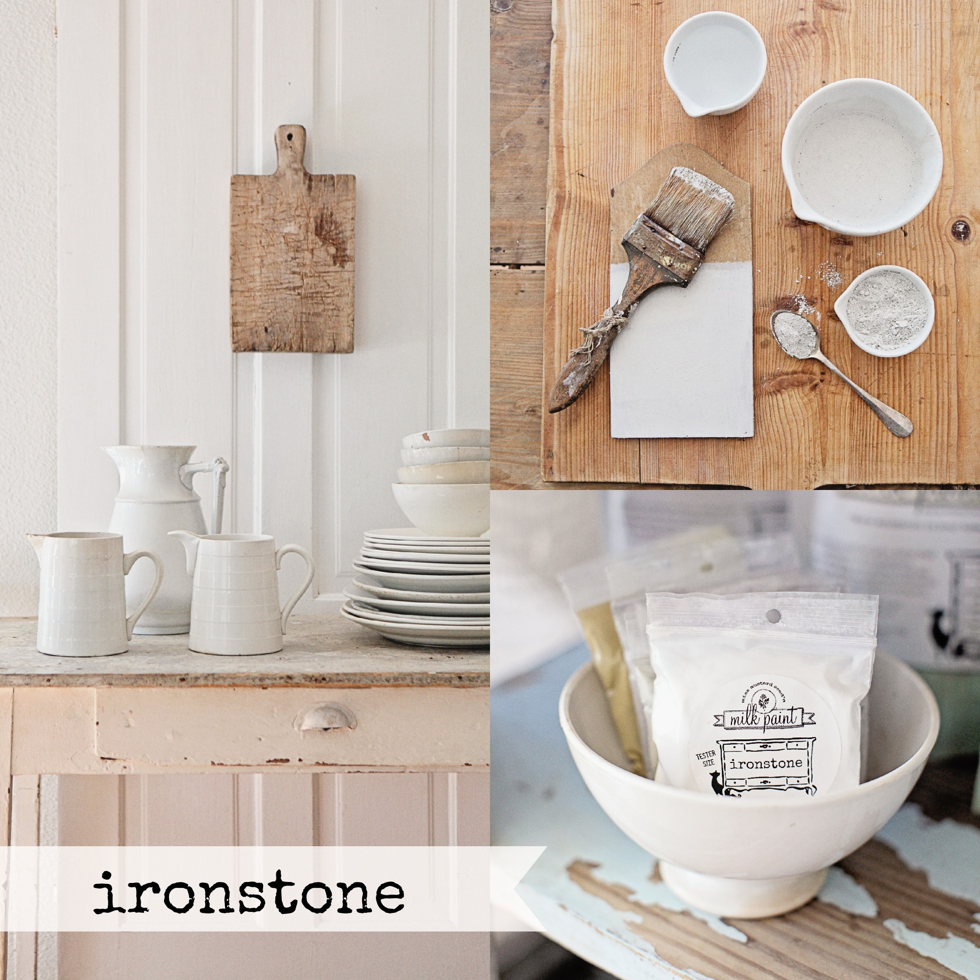 Ironstone-Collage